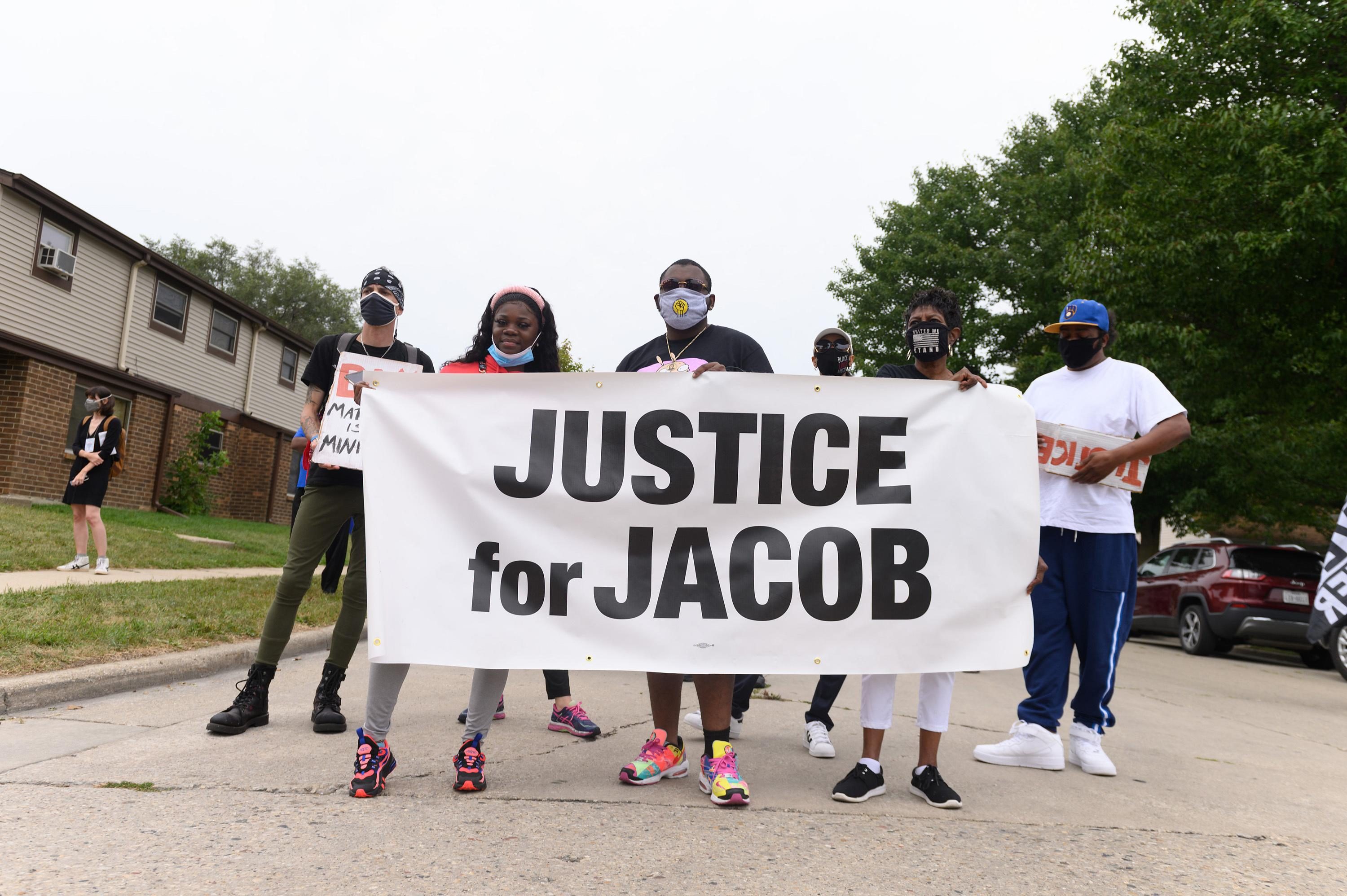 Jacob Blake, whose shooting by Kenosha police sparked protests, leaves hospital