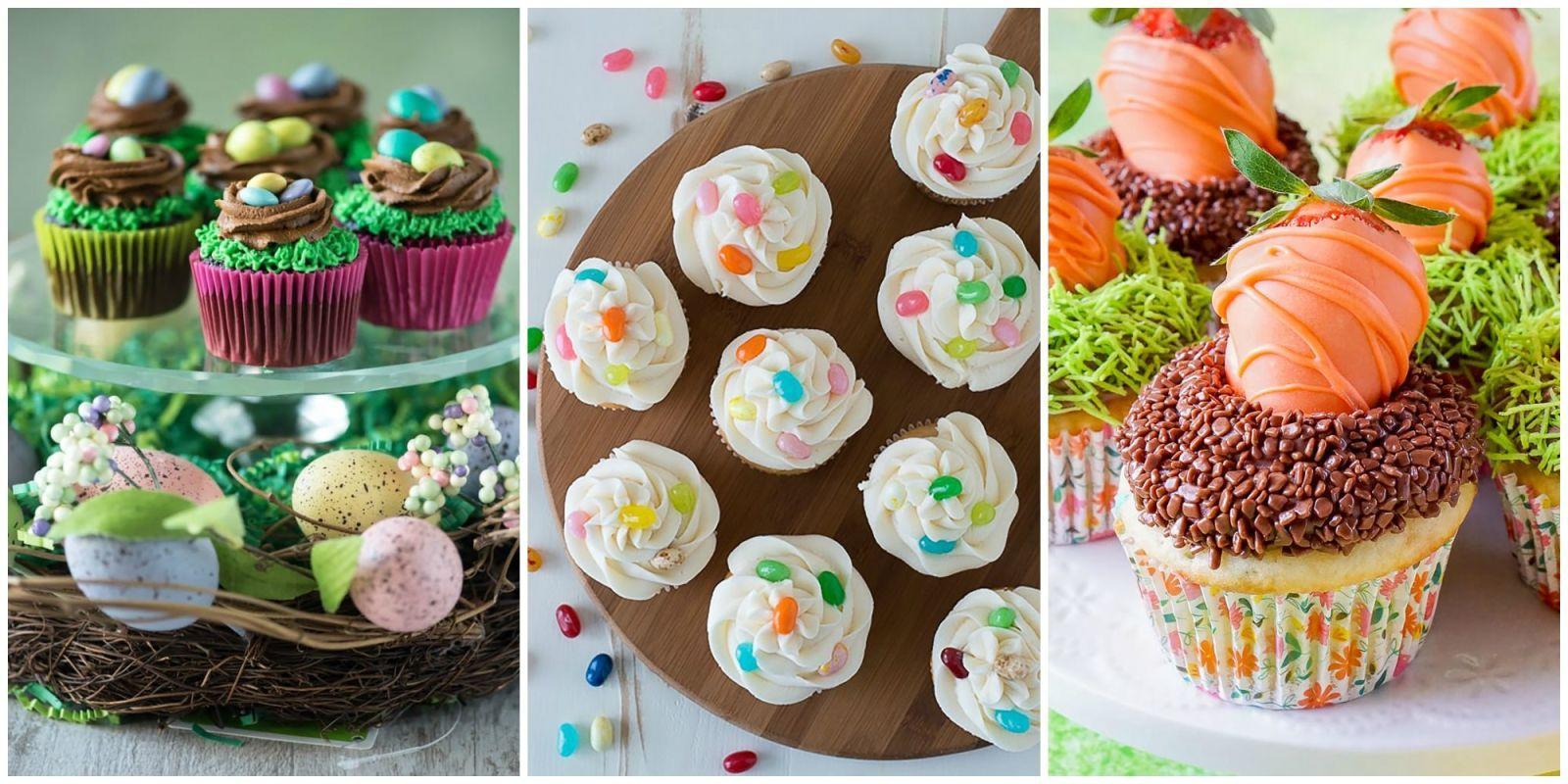 15 adorable easter cupcake decorating ideas for Cute cupcake decorating ideas for easter