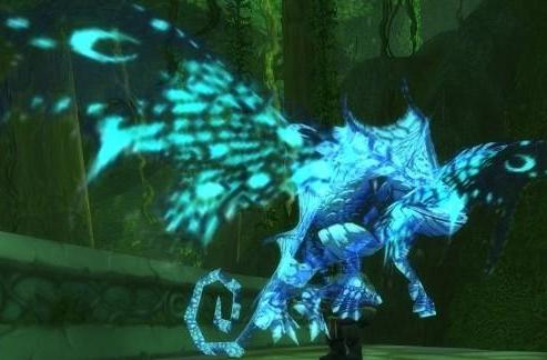 Pet battles are magic with the Nether Faerie Dragon