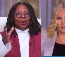"Whoopi Goldberg explains to Meghan McCain why Trump's Supreme Court nominee won't get ""Kavanaugh'ed"""