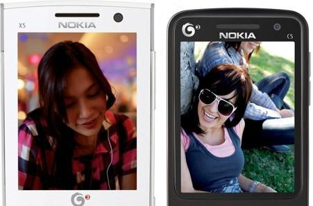 Nokia cozies up to TD-SCDMA some more, launches China Mobile versions of the X5 and C5, joins TD Forum