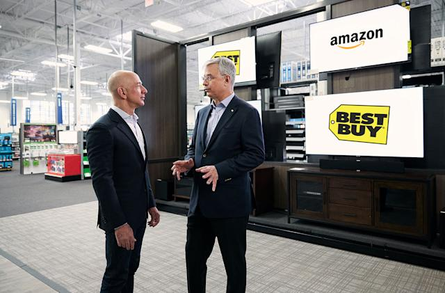Amazon recruits Best Buy to sell Fire TV Edition smart TVs