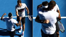 Australian Open star's beautiful act of sportsmanship in defeat