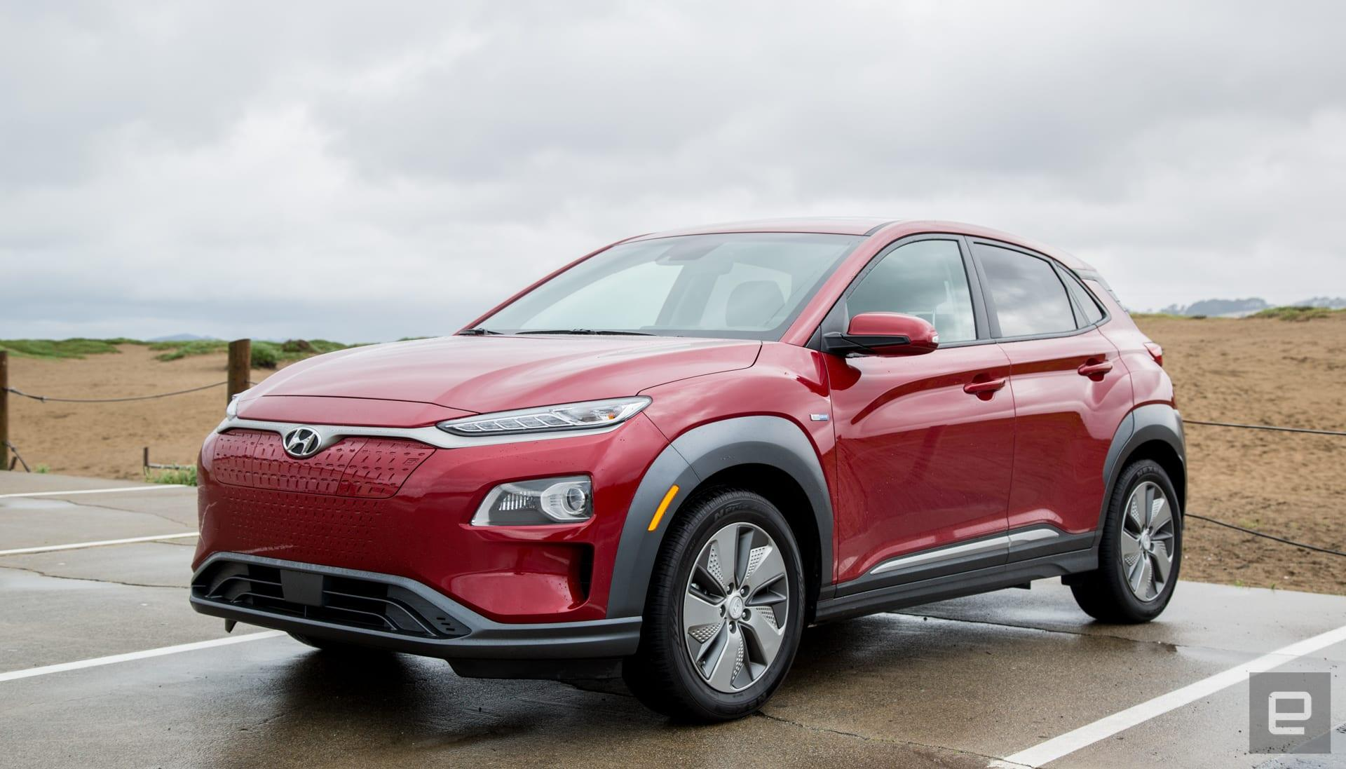 hyundai s kona ev is the car you didn t know you were waiting for engadget hyundai s kona ev is the car you didn t
