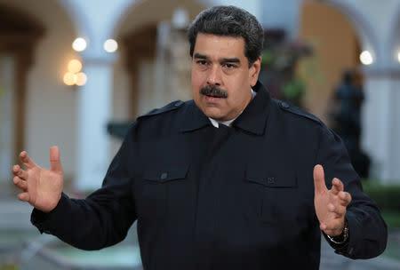 U.S. sanctions Venezuela gold mining company for backing Maduro