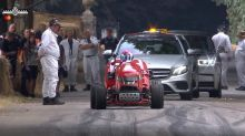 Honda lawn mower races up Goodwood hillclimb, makes us smile