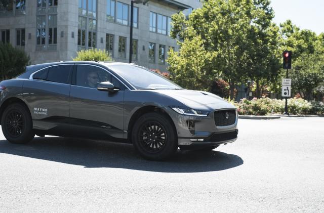 Waymo's first Jaguar I-Pace EVs hit Bay Area roads