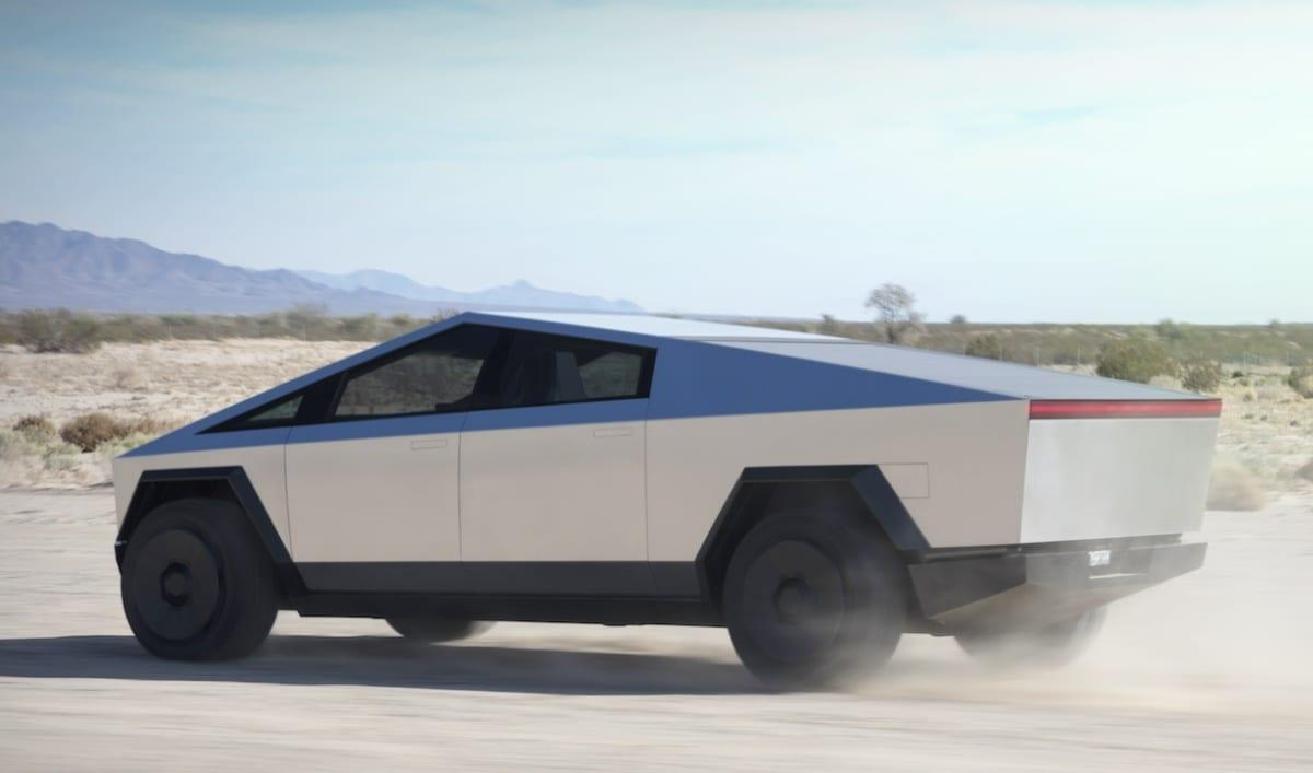 The Morning After Tesla S Angular Cybertruck Is Electric