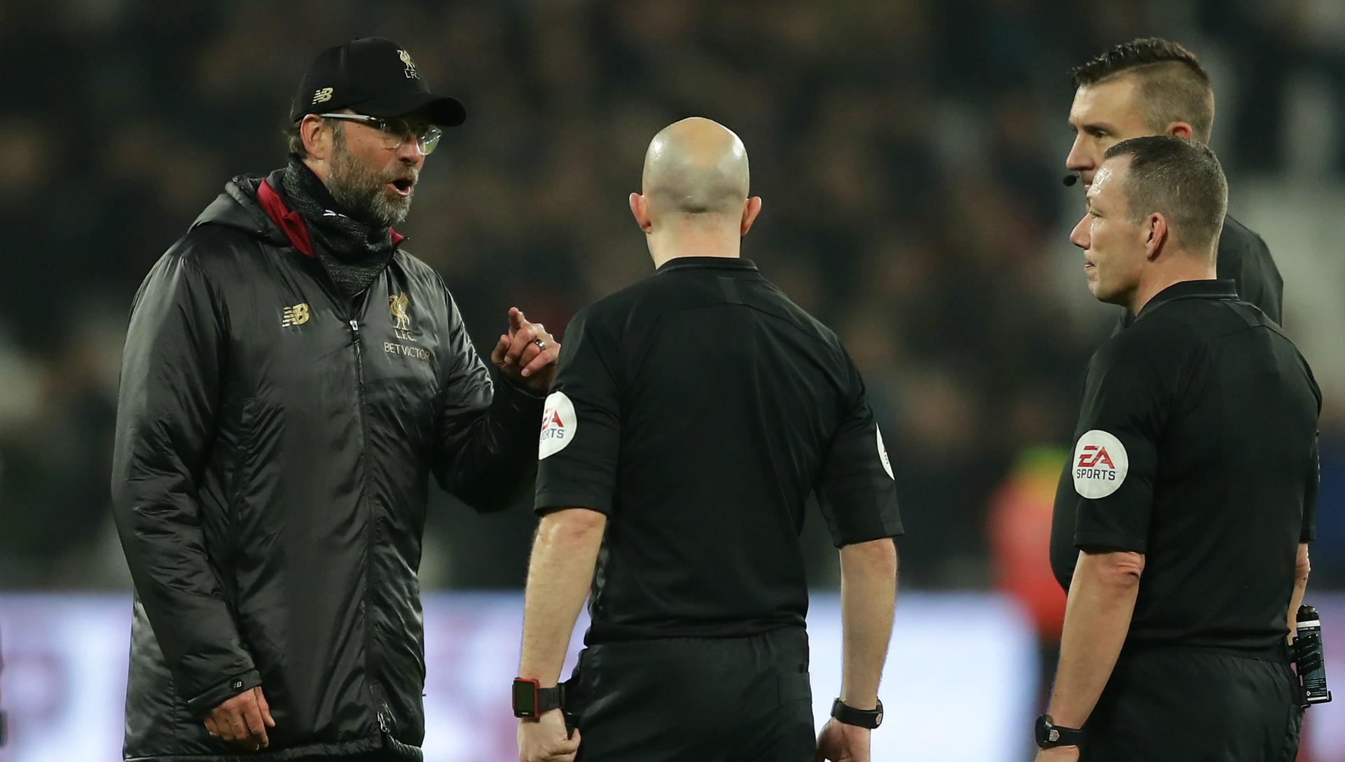 Klopp fined £45,000 referee comments