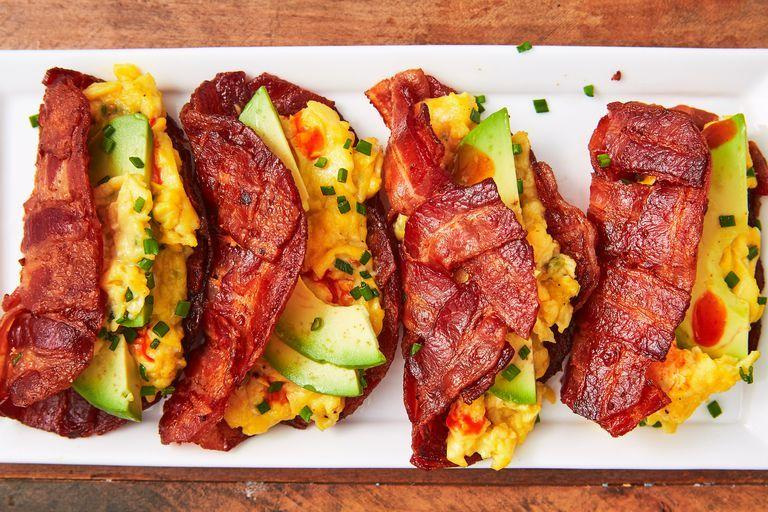 "<p>Eating healthy shouldn't feel like torture. With cheesy egg dishes, vegetable-filled frittatas, and magic low-carb waffles, you won't miss carb-heavy breakfasts for a second. For more low-carb ideas, check out our favorite <a href=""https://www.delish.com/cooking/g4806/keto-breakfast/"" rel=""nofollow noopener"" target=""_blank"" data-ylk=""slk:keto breakfasts"" class=""link rapid-noclick-resp"">keto breakfasts</a> and <a href=""https://www.delish.com/cooking/nutrition/g1412/quick-healthy-breakfast-recipes/"" rel=""nofollow noopener"" target=""_blank"" data-ylk=""slk:healthy breakfast recipes"" class=""link rapid-noclick-resp"">healthy breakfast recipes</a>!</p>"
