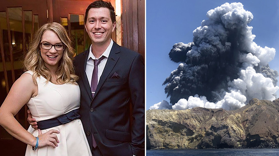 'Just broke my heart': Moment grieving family learned of son's fate on NZ volcano