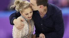 Here's how the married American figure skaters celebrated Valentine's Day in PyeongChang