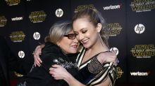 Billie Lourd and her father Bryan Lourd disavow unauthorised Carrie Fisher biography