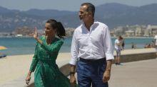 Spanische Königsfamilie beginnt Sommerurlaub auf Mallorca
