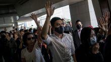 Asian markets pull back as China-U.S. tensions tick up over Hong Kong bills