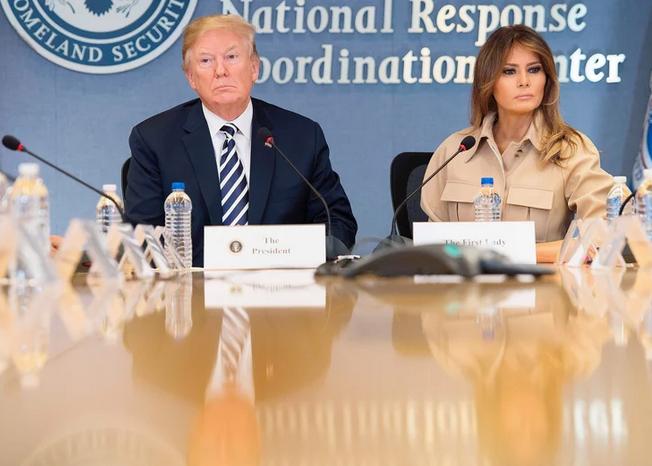 Donald Trump And An Upset Melania Had Words While At