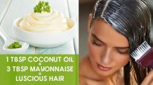 9 Most Effective Mayonnaise Hair Masks To Treat Different Hair Problems