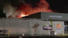 Fires, looting erupt as vandals strike East Bay businesses