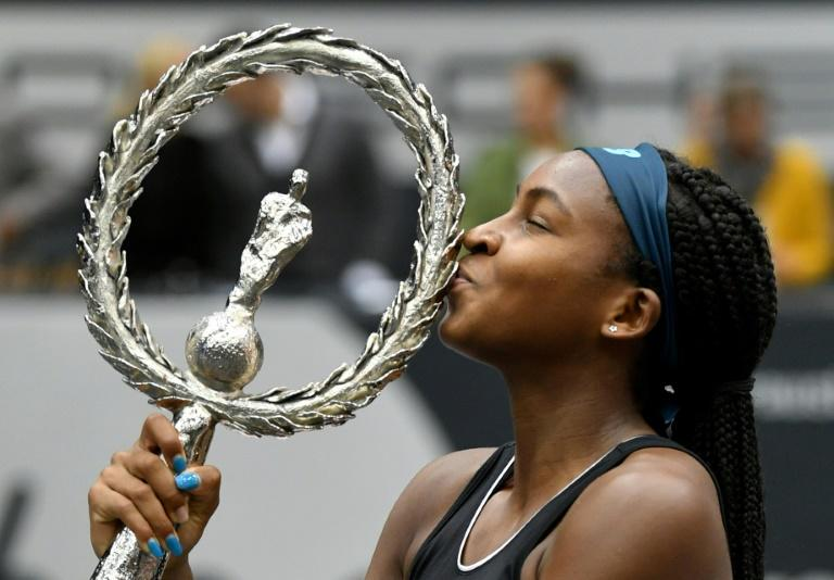Image result for COCO GAUFF WINS FIRST WTA TITLE