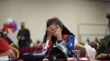 FOTO: Reaksi Pendukung Donald Trump dan Joe Bidden di Pemilu AS