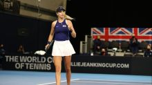 Katie Boulter seals Great Britain victory over Mexico in Billie Jean King Cup playoff