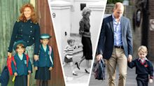 The best throwback photos of royal children starting nursery, school and university