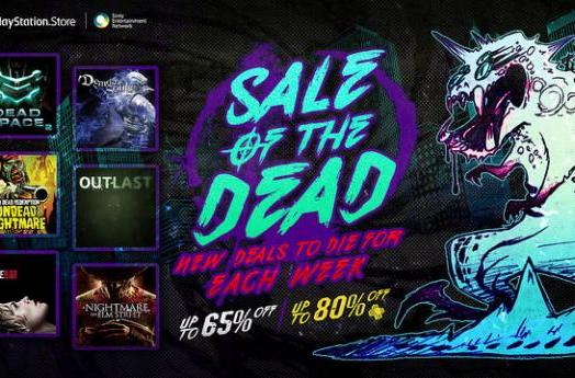 PSN Sale of the Dead is 2 weeks of spooky game discounts