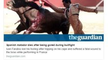 Ricky Gervais molesta a los taurinos con un ácido comentario