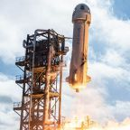 Watch Blue Origin auction off a seat to space