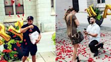 Man goes the extra mile to ensure his best friend's proposal is perfect