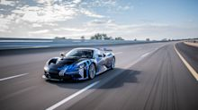 Automobili Pininfarina Battista completes first high-speed testing