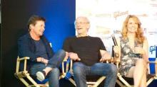 Michael J. Fox, Christopher Lloyd, Lea Thompson Reunite With'Back to the Future' Cast