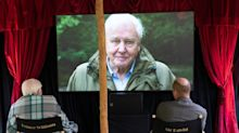 Prince William Enjoys Outdoor Movie Screening with Sir David Attenborough to Watch His Latest Film