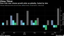 Coca-Cola aumenta ganancias mientras China impulsa ventas