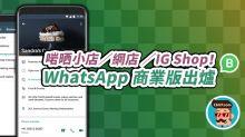 啱晒 IG Shop/網店!WhatsApp 商業版出爐