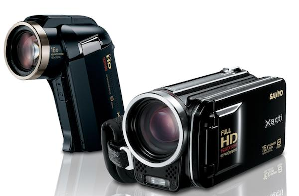 Sanyo unleashes two iFrame compatible Dual HD camcorders