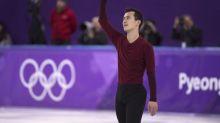 Patrick Chan falls short of individual medal in final Olympics