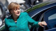 Interner CDU/CSU-Konflikt: Jens Spahn soll sich gegen Merkel ausgesprochen haben