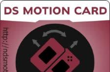 Third party card brings motion sensing to the DS