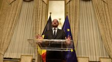 Belgian PM relaunches government as minority after ally quits