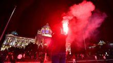 Dozens hurt in Serbia clashes over virus curfew