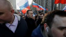 Foundation run by Kremlin critic Navalny fined under 'foreign agent' law