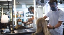 Face shields guidance for hairdressers needs to change, scientists say