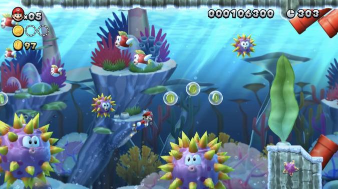 Screenshot from Super Mario U
