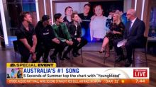 5SOS join Sam and Kochie to talk about their #1 hit