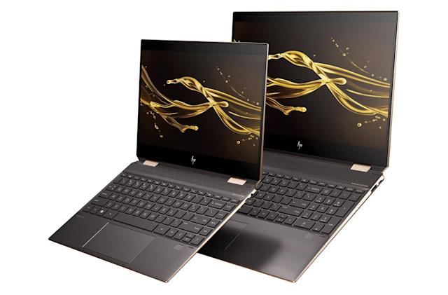 HP's latest Spectre x360 laptops boast up to a 22-hour battery