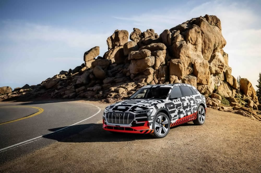 Audi e-tron prototype締造SUV車款新境界,即將在9/17在美國舊金山登場(圖片來源:Audi Taiwan)