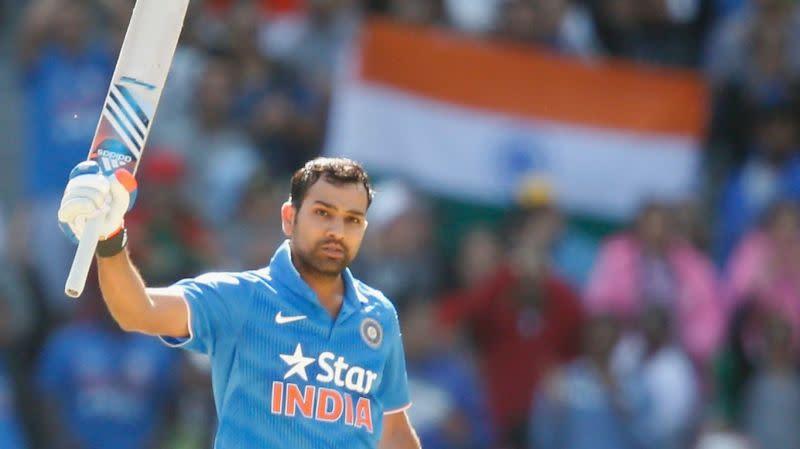Rohit Sharma smashed 124 against Australia at Brisbane
