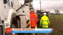 Weather warning issued in parts of South Australia