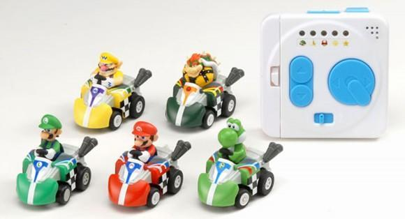 Tomy Mario Kart RC cars use power-ups, blow our minds